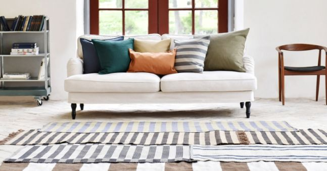 This secret (and super-simple) trick will transform your IKEA sofa