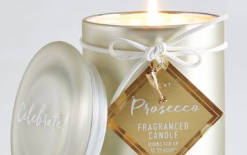 Next is selling alcohol-scented candles (and that's your stocking fillers sorted)