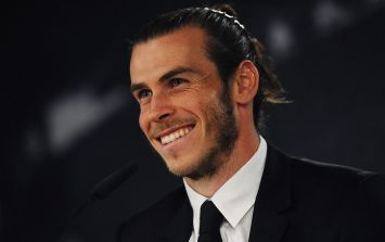 Real Madrid star Gareth Bale wants this icon to perform at his wedding