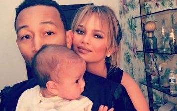 Chrissy Teigen and John Legend announce they're expecting baby number two
