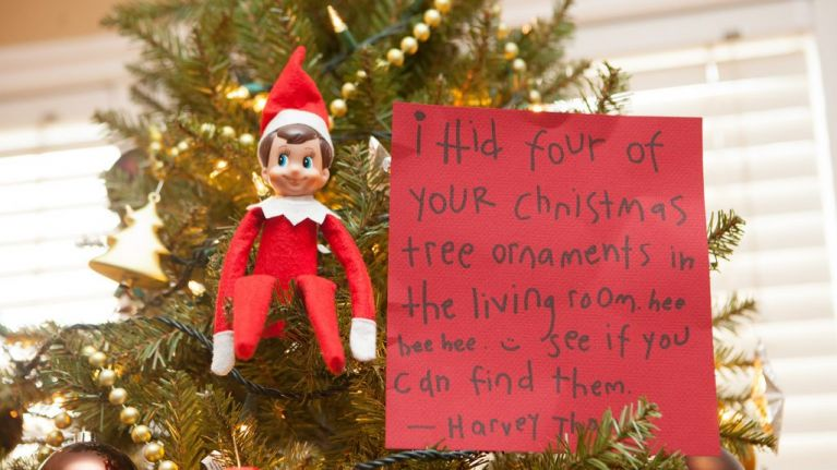 My child is terrified of Elf on a Shelf and to be honest I can't blame him