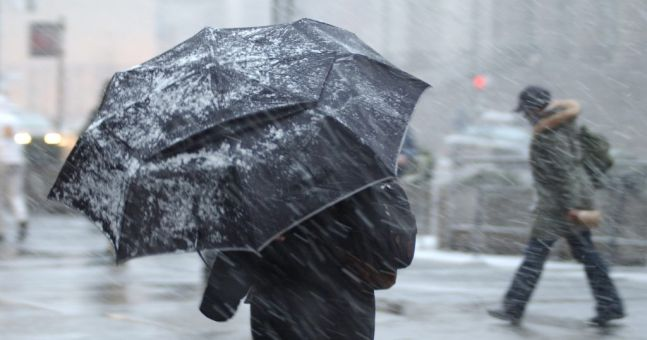 The big freeze: Weather warning in place as temperatures plummet to -3C