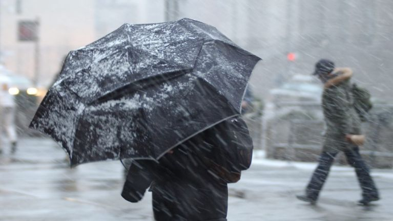 TV3 weatherman predicts six inches of snow could hit on St Patrick's Day