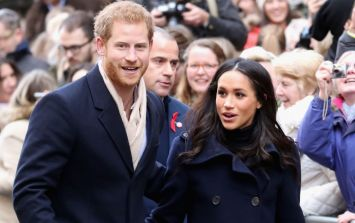 Meghan and Harry pictured going to Christmas lunch with the Queen