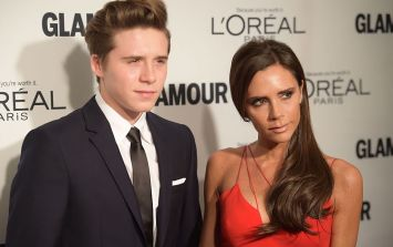 'My handsome boys': Victoria Beckham's sweet pic of David and Brooklyn