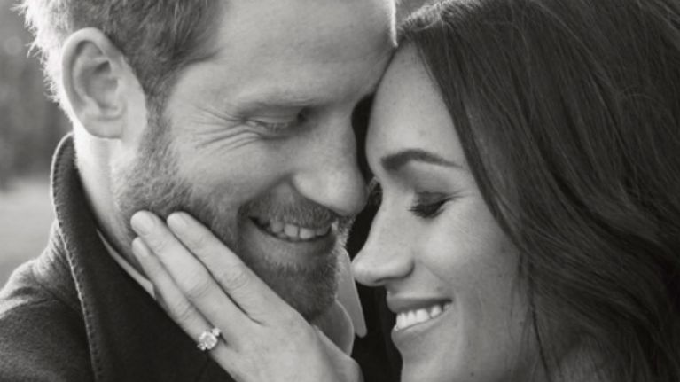 Kensington Palace has just released another Meghan and Harry photo