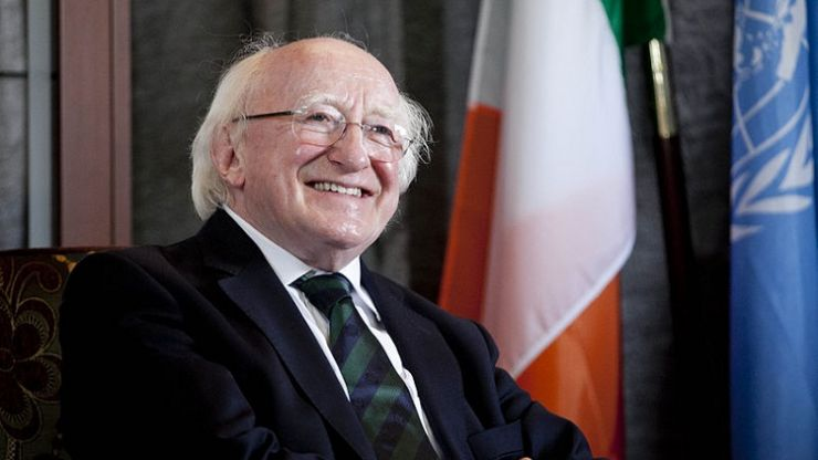 President Michael D Higgins sends the sweetest letter to a woman on her birthday