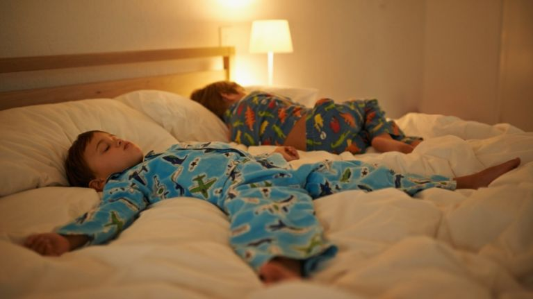 Time for bed? Study finds sleep is inextricably linked to children's happiness