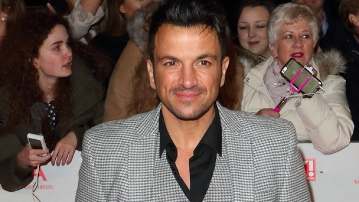 Peter Andre responds to claims he dyed his four-year-old daughter's hair