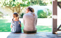 What age are children when parents are typically most unhappy?