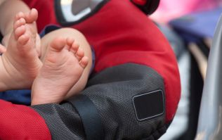 Apparently we've been carrying car seats the wrong way this whole time