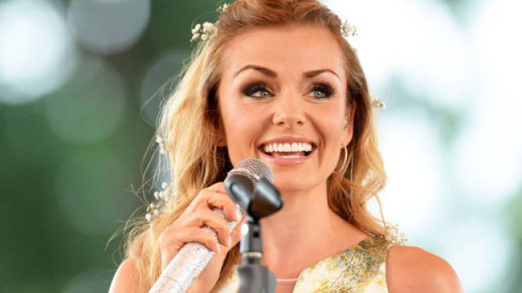 Katherine Jenkins just announced the birth of her second child in adorable post