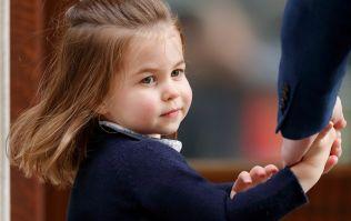 Awww! Princess Charlotte's pretty blue dress has sold out already