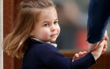 Awww! Princess Charlotte's pretty blue dress has sold out already