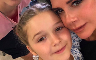 Fans can't get over how 'posh' Harper Beckham sounds in adorable new video
