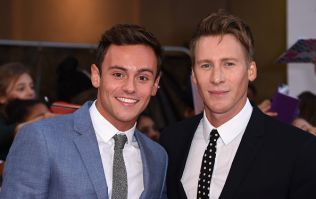 Tom Daley's and Dustin Black's baby shower looked insanely fancy