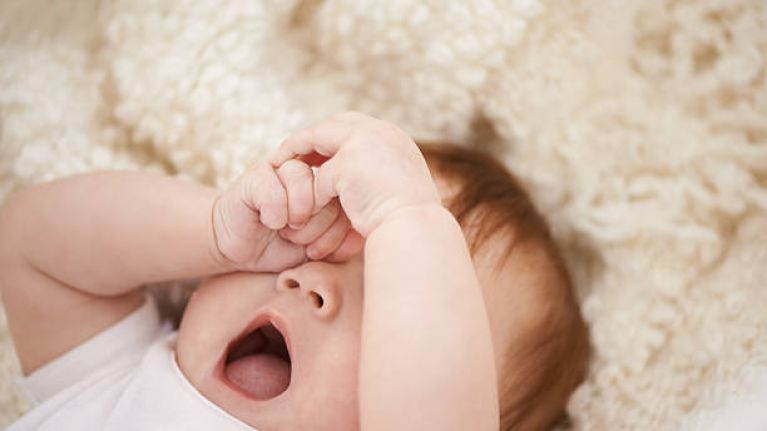 "Sleepless babies and children can ""significantly decrease"" parental income"