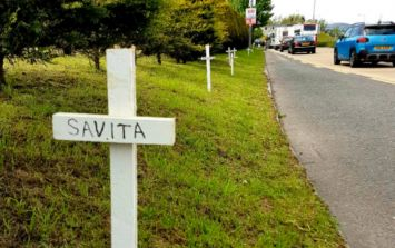 'Savita, Alisha, Michelle... Ann Lovett - I wrote their names on the white crosses in Donegal'