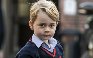The Royal Wedding represented a pretty significant milestone for Prince George