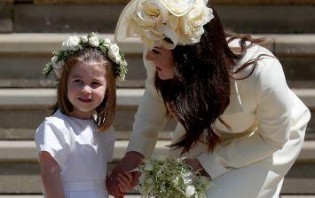Princess Charlotte had a very important job at the royal wedding