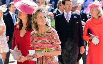 Prince Harry's ex Cressida Bonas had one problem with the royal wedding