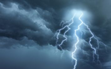 The week's forecast includes some very high temperatures and a lot of thunderstorms