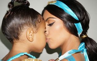 Kim Kardashian was transformed into Princess Jasmine to try and fool North