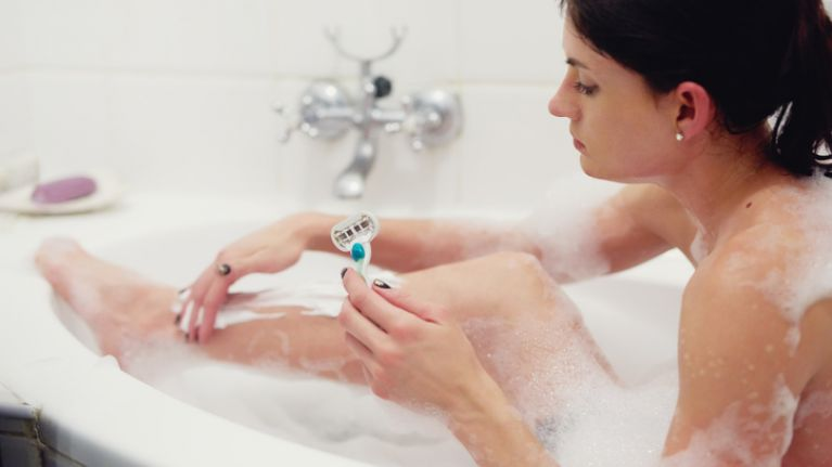 Here's why you should never use shower gel or conditioner to shave your legs
