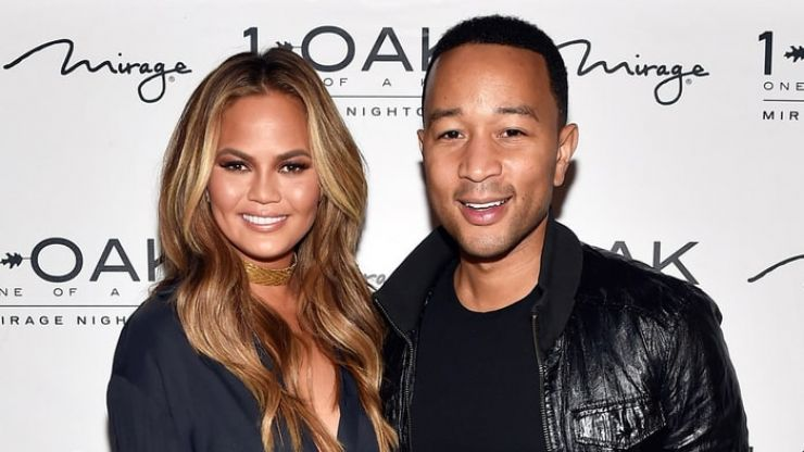 John Legend's candid picture of Chrissy Teigen pumping is why we love them