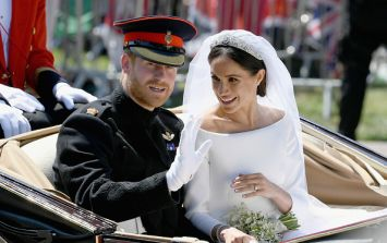 Harry and Meghan spotted leaving Windsor for the first time since the wedding
