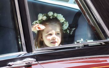 Here's where Prince George and Princess Charlotte went during the royal wedding