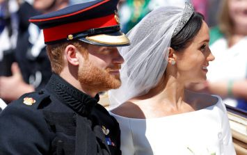 What Harry said to Meghan's wedding dress designer will melt you