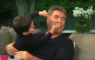 Simon Cowell's son completely stole the show during his latest interview