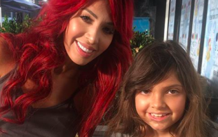 Farrah Abraham's daughter was just casually sipping €128 apple juice in Dubai yesterday