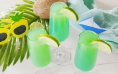 Mermaid Mimosa is the summer cocktail you'll want to gather the girls for