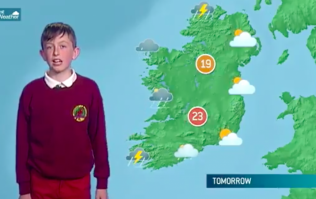 A Kerry boy presented RTE weather yesterday and he was brilliant
