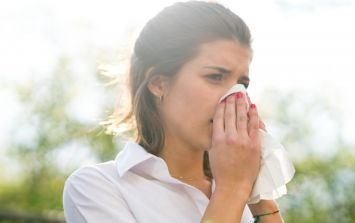 Met Éireann's pollen forecast this weekend is pretty grim for hay fever sufferers
