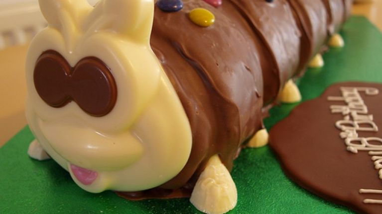 Marks And Spencer Is Now Selling A Massive Caterpillar Cake For 40 People