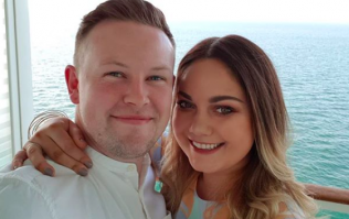 Blogger Grace Mongey shares first snap of her stunning engagement ring