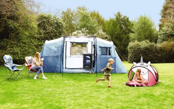 Aldi's new camping range is sheer outdoor luxury (and the BBQ is only €17!)
