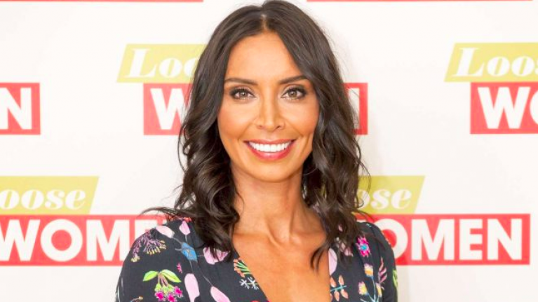 Christine Lampard's FAB €56 dress perfectly shows off her growing bump
