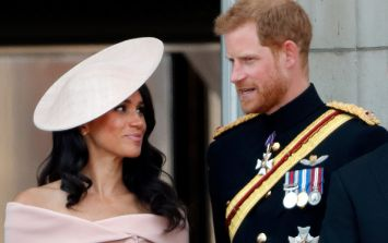 The sweet moment between Meghan and Harry on the balcony that we all missed