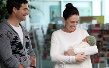 New Zealand's Prime Minister has chosen an Irish name for her new baby
