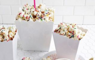 Chrissy Teigen's amazing cake batter popcorn is what birthday party dreams are made of