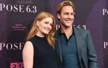 James Van Der Beek shares photo of 'placenta in a mixing bowl' after wife's home birth