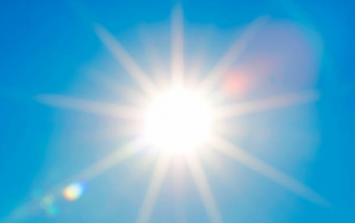 The summer solstice is today, and the weather is looking great