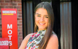 You'll recognise Sophie Webster's new girlfriend from another soap