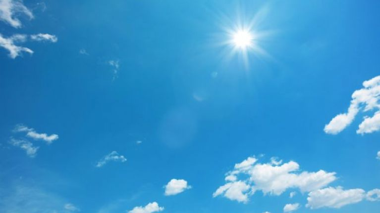 The heatwave is to continue judging by Met Éireann's new weather warning