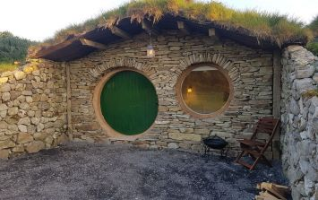 There are Hobbit huts in Mayo and I know where I'm bringing the kids this summer