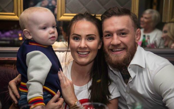 Huge congrats! Conor McGregor and Dee Devlin are expecting their second child